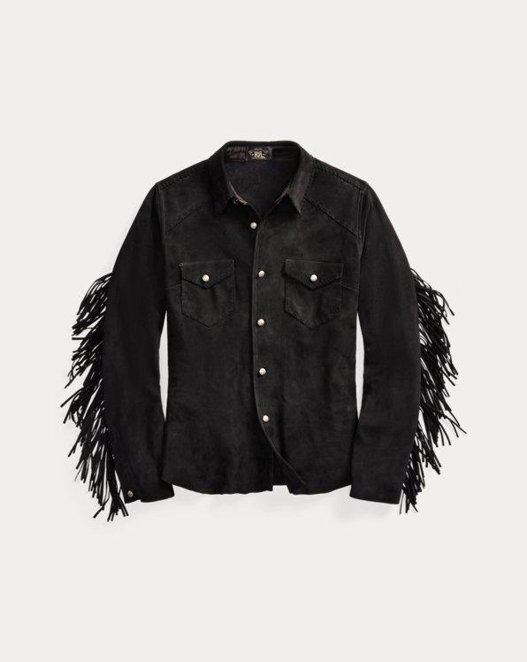 Fringe Suede Western Shirt