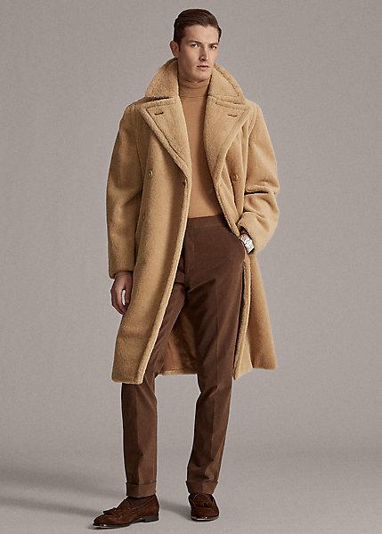 Polo RalphLauren Alpaca-Blend Topcoat