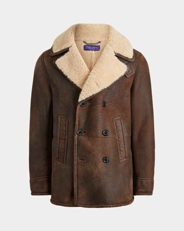Caban Fullerton in shearling