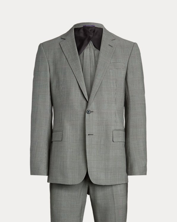 Gregory Glen Plaid Wool Twill Suit