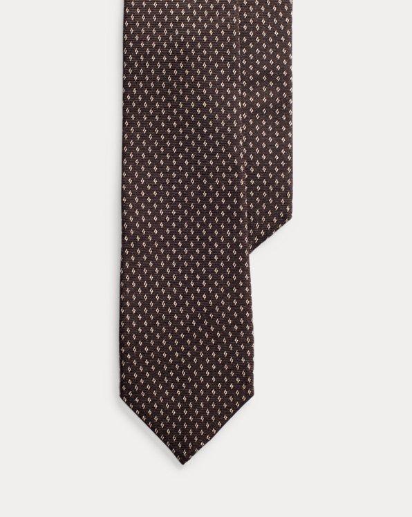 Krawatte mit Rautenmuster
