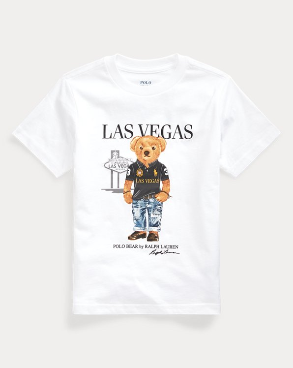 Las Vegas Bear Cotton Tee