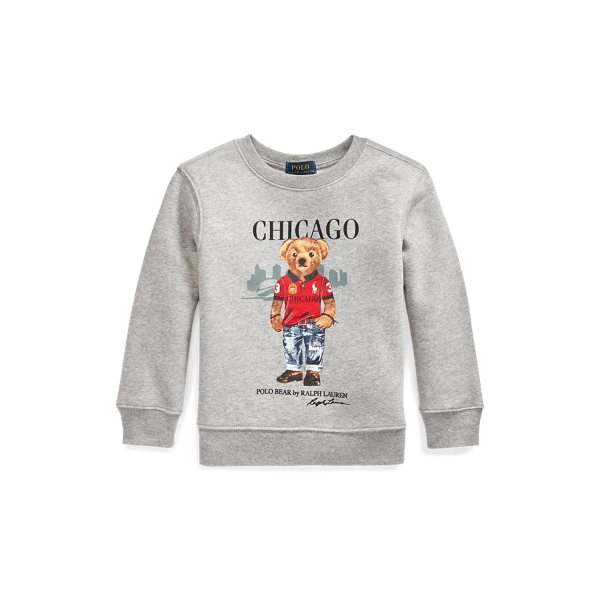 폴로 랄프로렌 Polo Ralph Lauren Chicago Bear Fleece Sweatshirt,Andover Heather