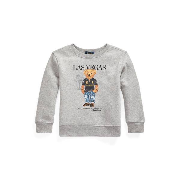 폴로 랄프로렌 Polo Ralph Lauren Las Vegas Bear Sweatshirt,Andover Heather