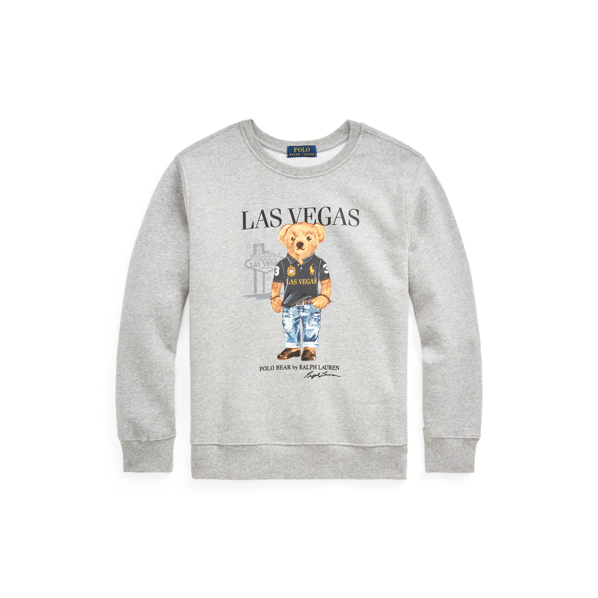 Polo Bear - Las Vegas Bear Sweatshirt