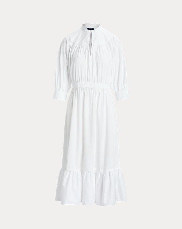 Cotton Broadcloth Dress