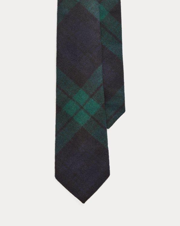 Black Watch Cashmere Tie