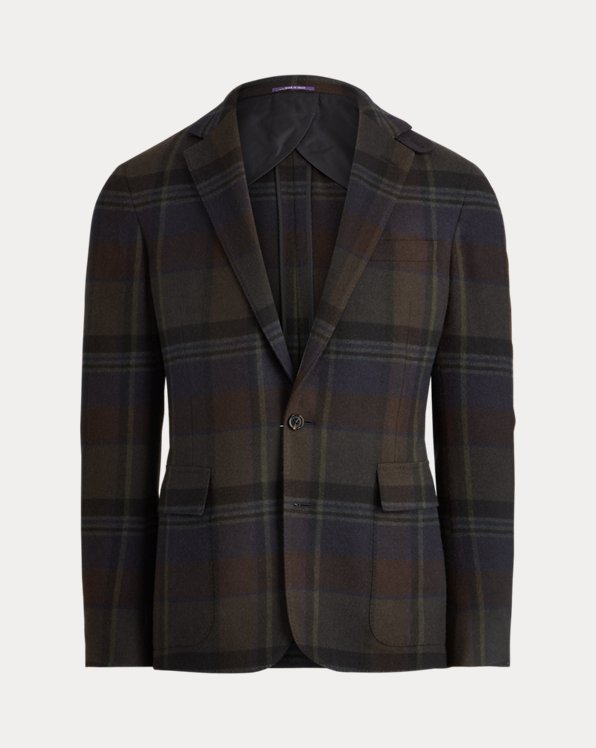 Giacca Hadley in cashmere scozzese