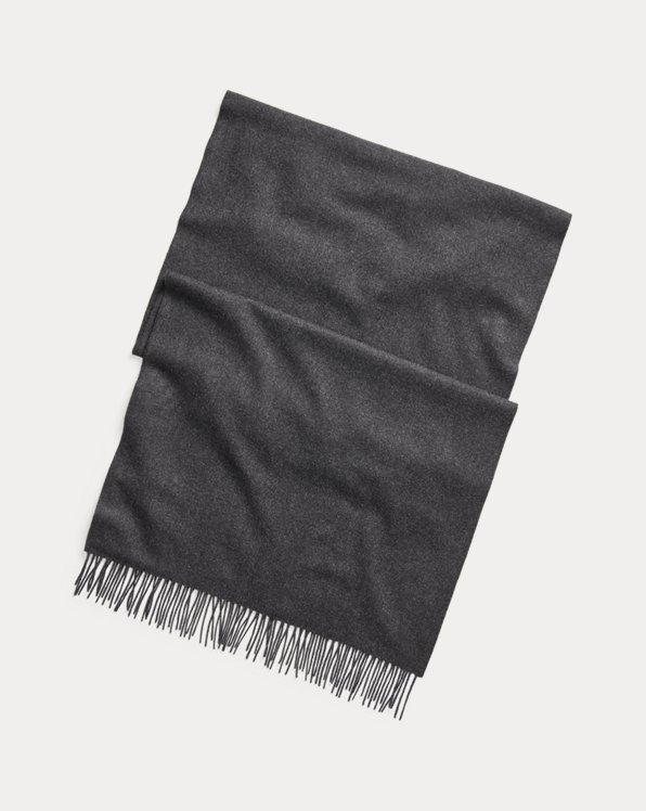 Cashmere-Lambswool Flannel Scarf