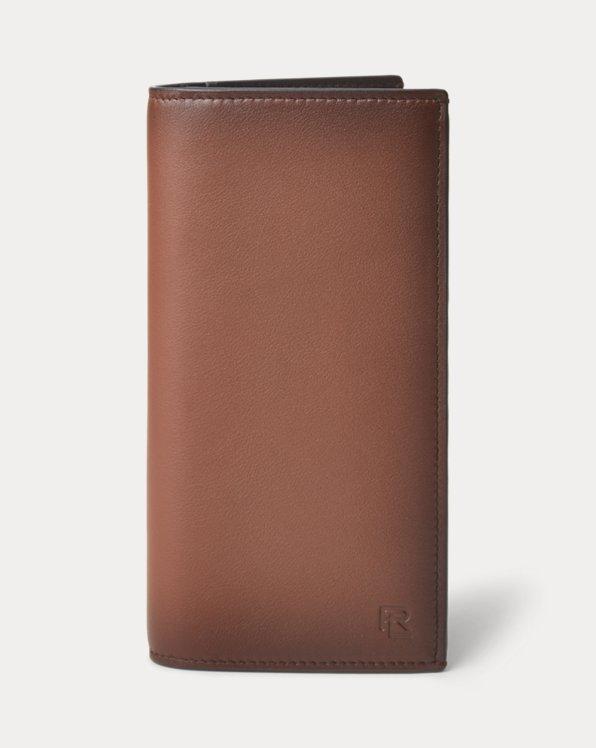 Burnished Calfskin Continental Wallet