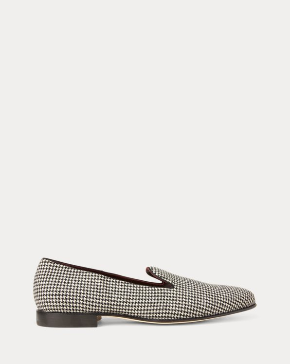 Alonzo Houndstooth Wool Slipper