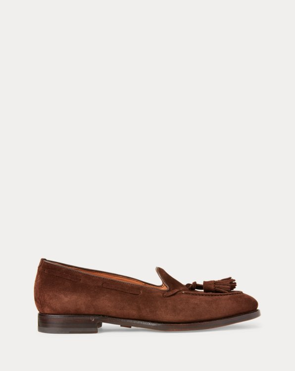 Luther Tassel Suede Loafer