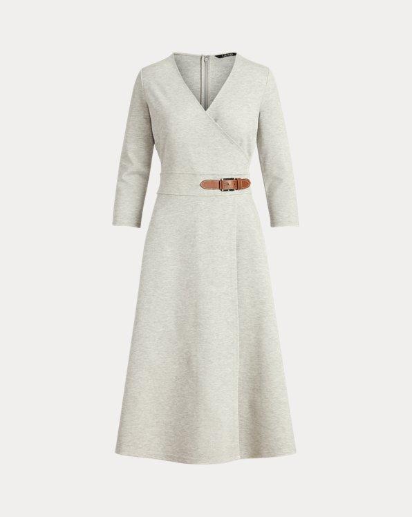 Buckled Ponte Dress