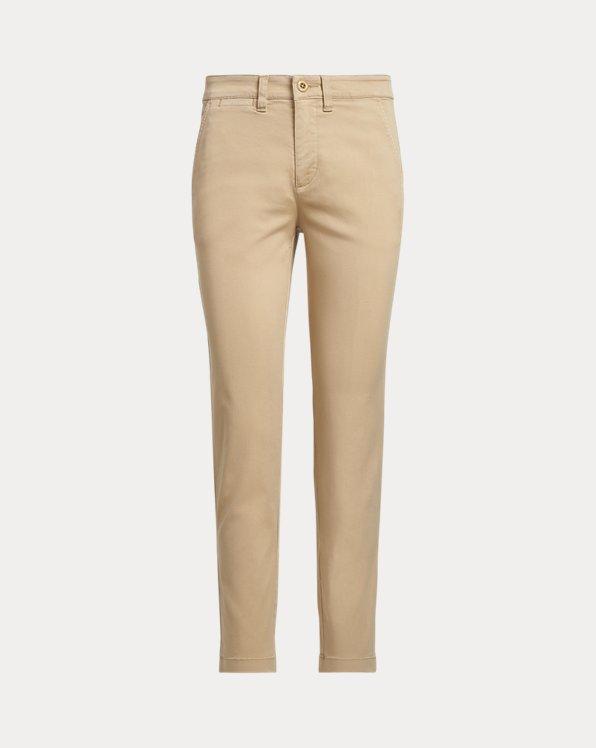 Pantalon slim en chino stretch