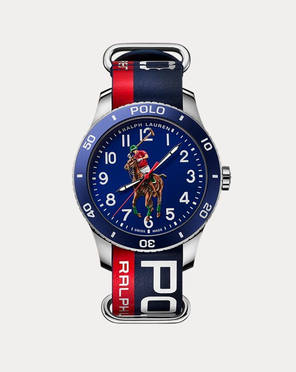 Polo Sport Watch Blue Dial