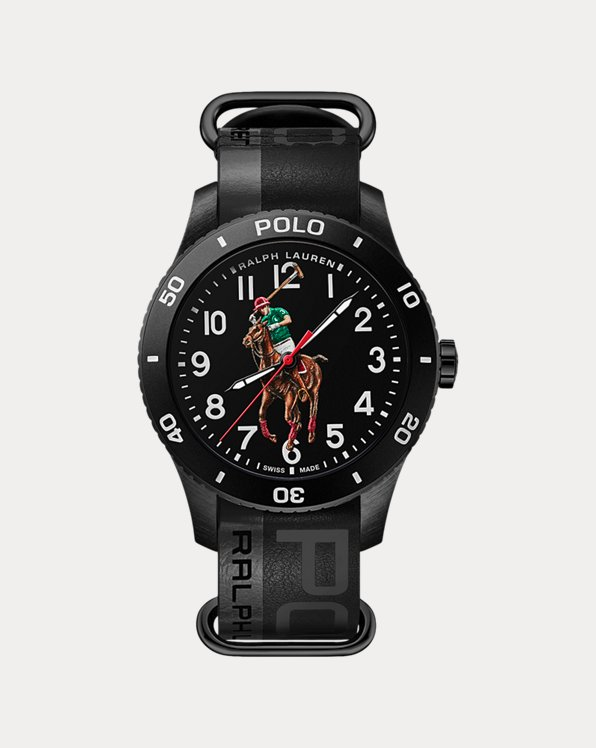 Polo Sport Watch Black Dial