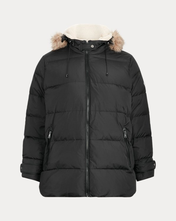 Hooded Down Coat