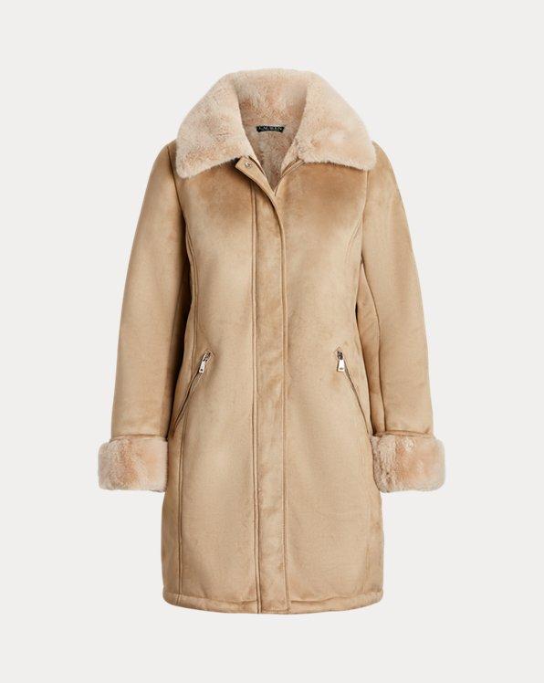 Faux-Shearling Coat