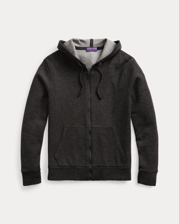 Cashmere-Blend Hoodie