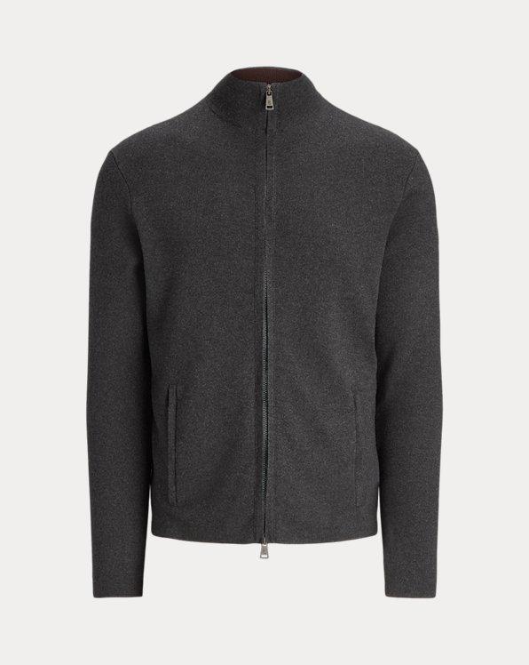 Silk-Cashmere Full-Zip Jumper