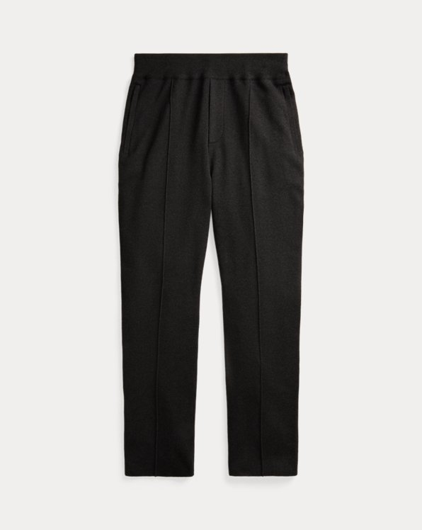 Knit Silk-Cashmere Trouser