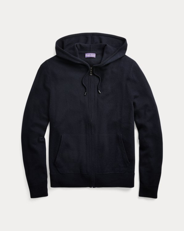 Wool-Cashmere Hooded Jumper