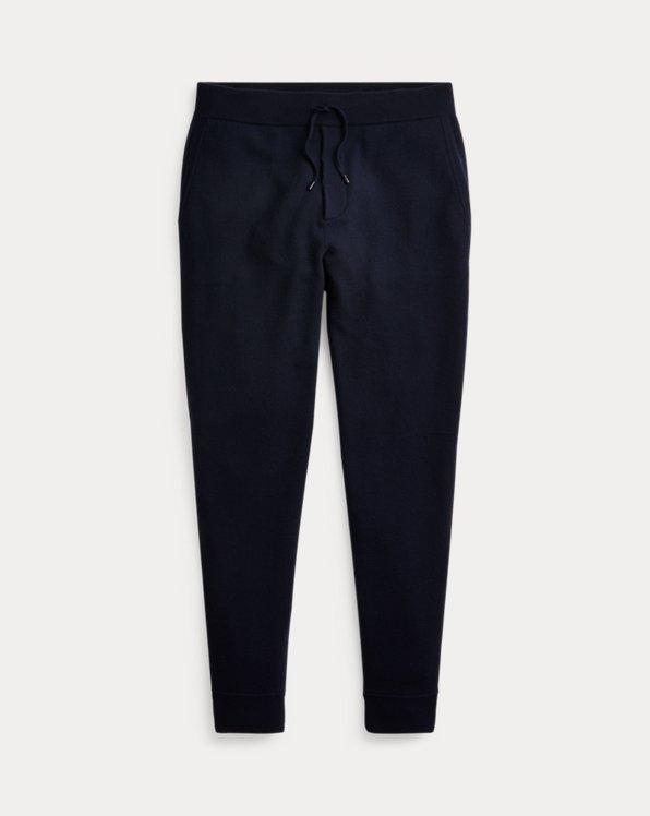 Knit Wool-Cashmere Jogger Pant