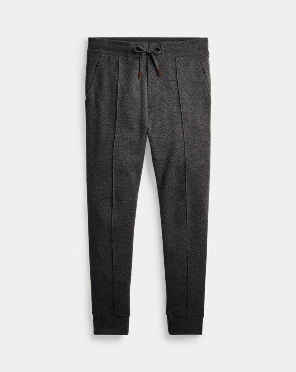 Pantaloni da jogging misto cashmere