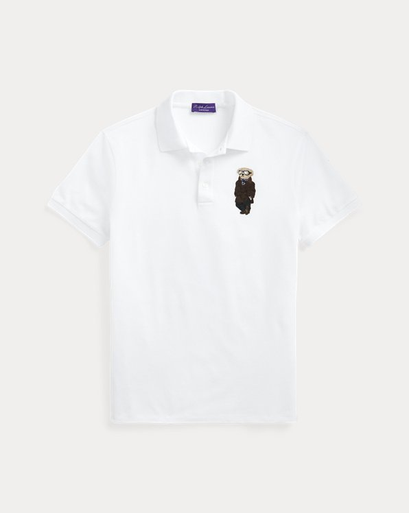 Custom Slim Fit Bear Polo Shirt
