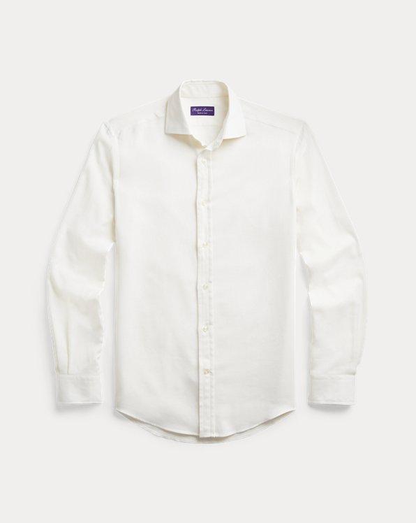 Cotton-Cashmere Twill Shirt