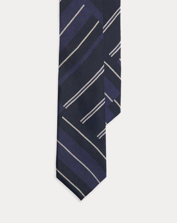 Regimental Patchwork Silk Tie
