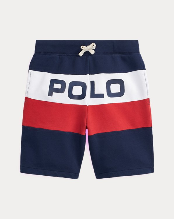 Logo Cotton French Terry Short
