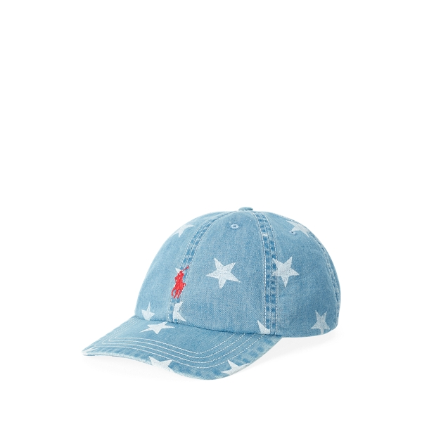 폴로 랄프로렌 보이즈 볼캡 모자 Polo Ralph Lauren Denim Ball Cap,Denim Blue
