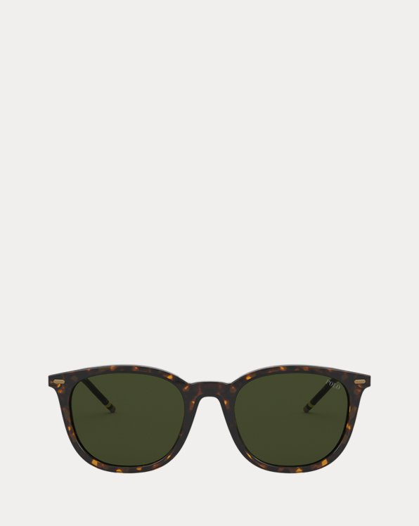 Signature-Stripe Sunglasses