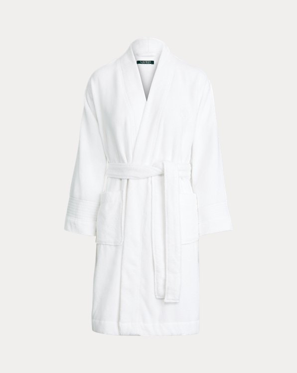 Polo Ralph Lauren Custom Cotton Terry Cloth Robe