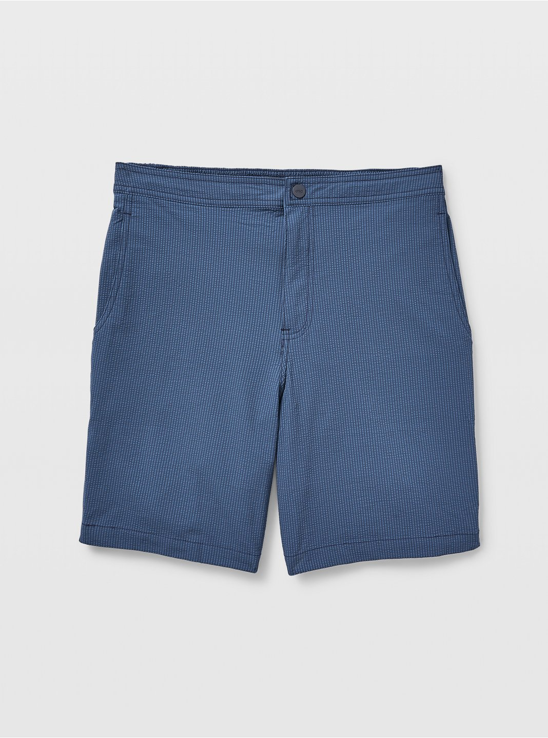 "Onia Calder 7"" Seersucker Swim Trunks"