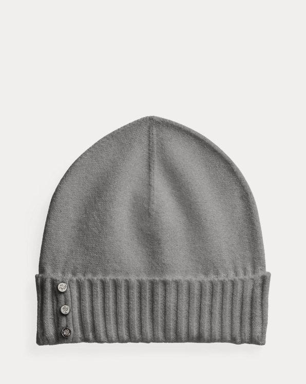 Polo Ralph Lauren Button-Trim Beanie