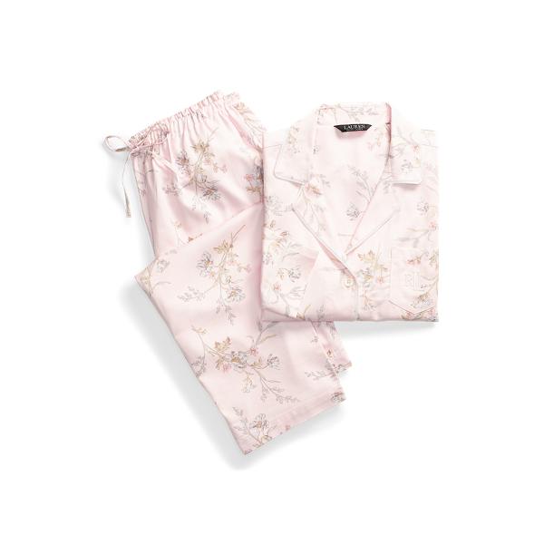로렌 랄프로렌 파자마 세트 Lauren Print Cotton Blend Sleep Set,Pink Floral