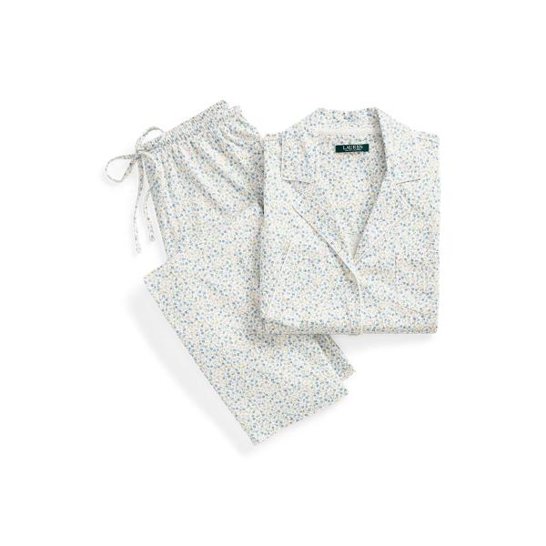 로렌 랄프로렌 파자마 세트 Lauren Floral Cotton Blend Sleep Set