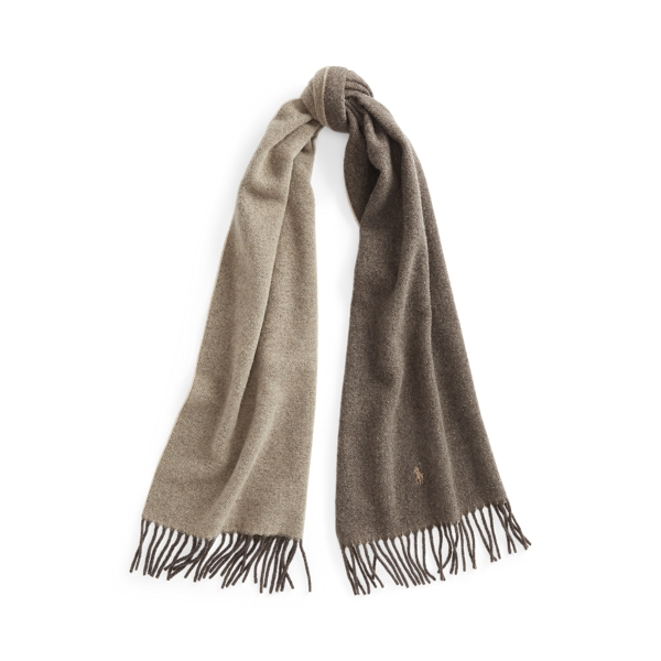 Polo Ralph Lauren Double-Faced Wool Scarf