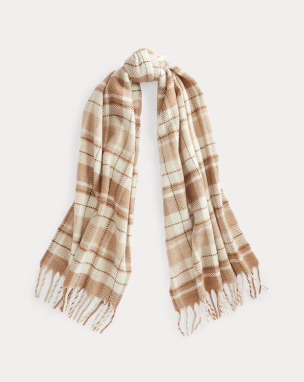 Polo Ralph Lauren Tartan Wool-Blend Scarf
