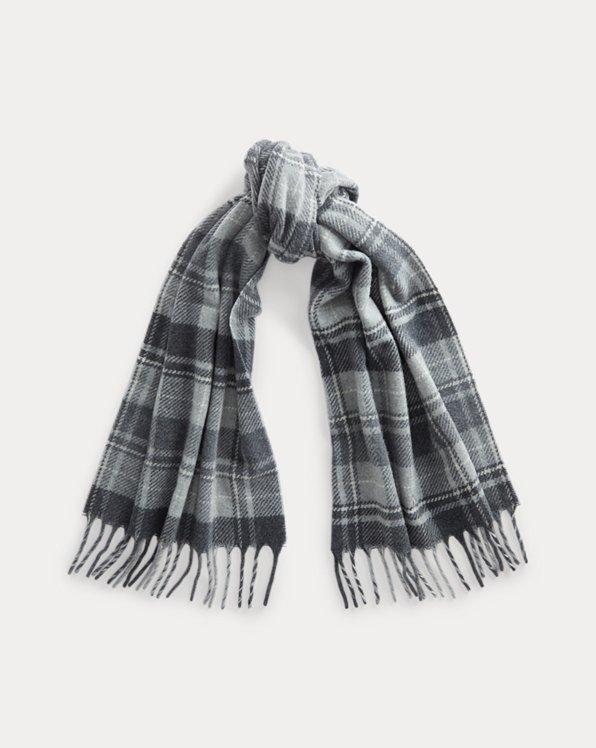 Tartan Wool-Blend Scarf