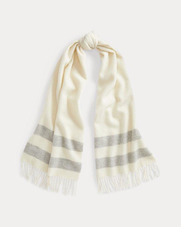 Polo Ralph Lauren Fringe Wool Scarf