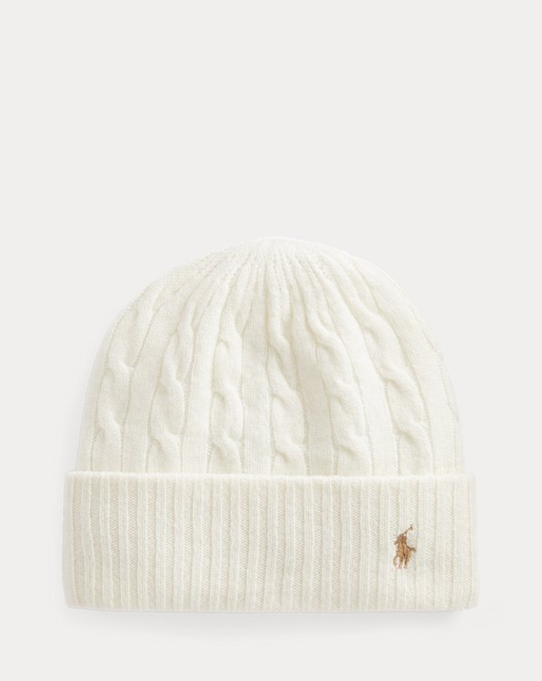 Cable-Knit Wool-Cashmere Beanie