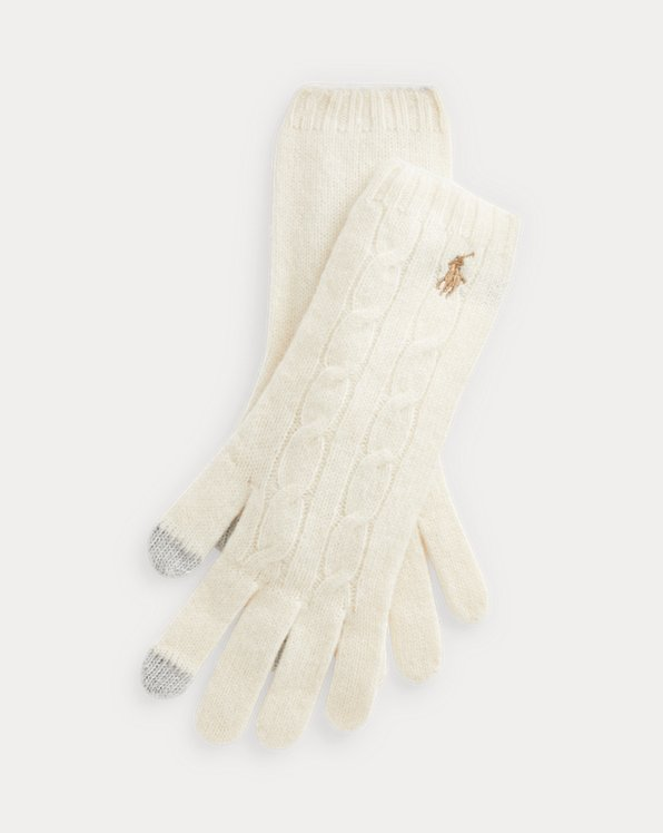Polo Ralph Lauren Wool-Cashmere Gloves