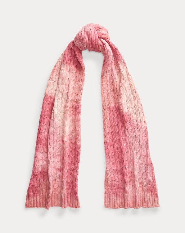 Pink Pony Tie-Dye Scarf