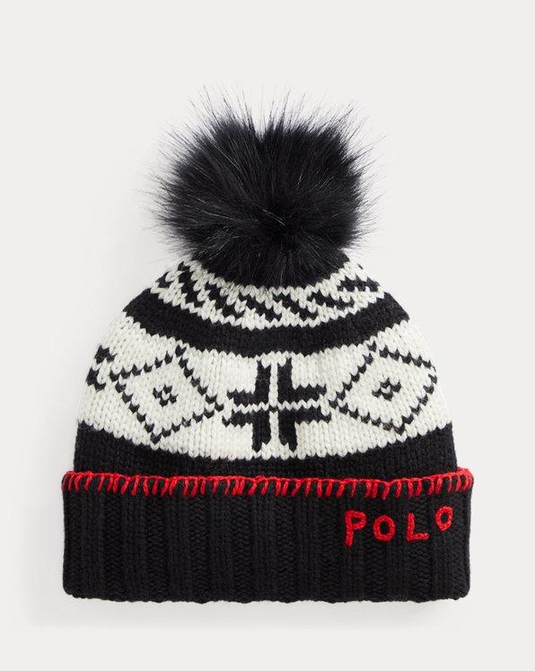 Pom-Pom Nordic Beanie