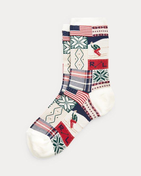 Holiday Patchwork Socks