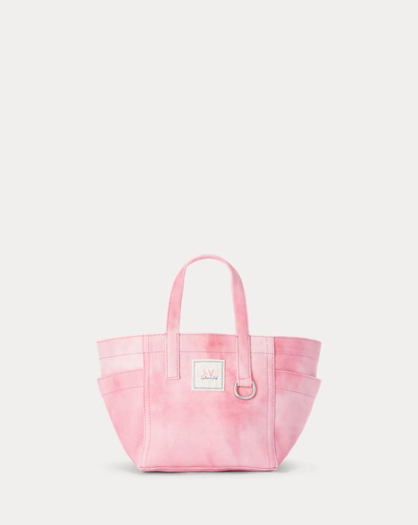 Pink Pony Tie-Dye Mini Tote Bag