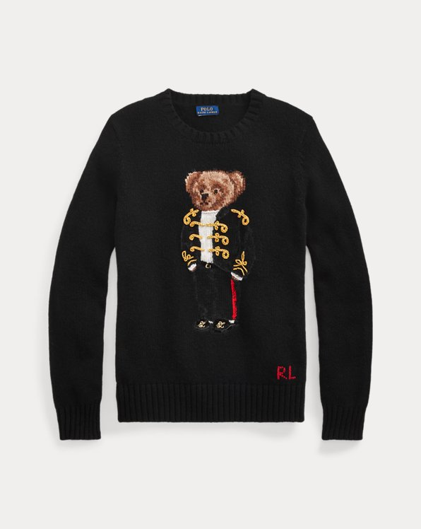 Pullover mit Holiday Polo Bear